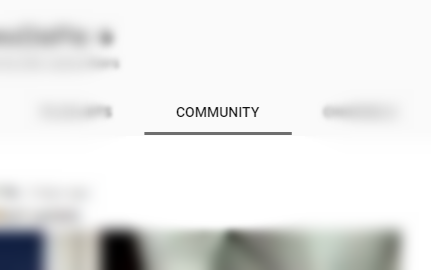 How to get the Community Tab on your YouTube Channel