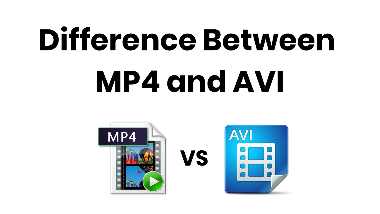 mp4 vs avi
