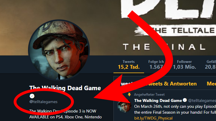 Skybound Has Access To Telltale's Twitter Account