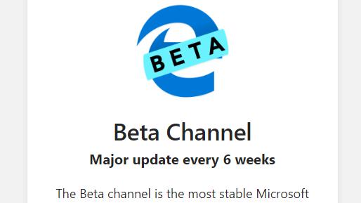 Edge Chromium: Microsoft Edge Beta is now available